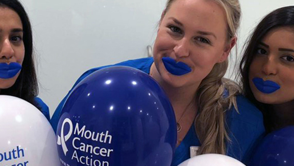 Are YOU mouthaware? New data reveals most people do not know the symptoms associated with mouth cancer, despite record number of cases