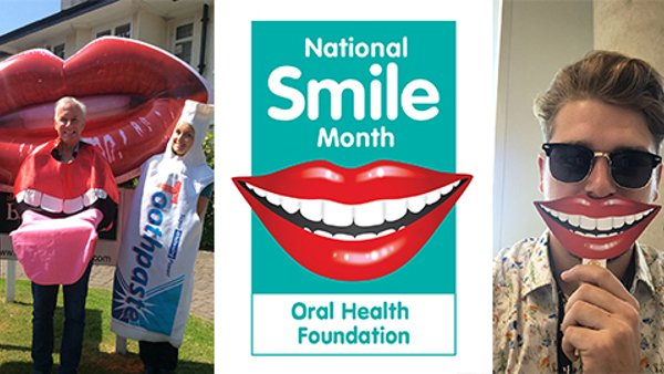 National Smile Month 2020: Why we're going ahead